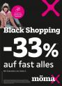 Black Shopping bei mömax – 33% auf fast alles