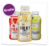 """Gratis Milchmischgetränk """"Milky"""""""