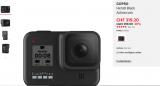 Gopro 8 Black 309.- bei Manor (mit Newsletter)