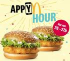 2 für 1 McChicken bei McDonald's heute von 20 bis 22 Uhr für CHF 6.10