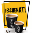 Gratis Café Crème oder Espresso im McDonalds