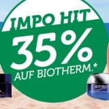 35% auf alles von Biotherm bei Import Parfumerie, z.B. Waterlover Sun Milk für CHF 27.20 statt CHF 41.90