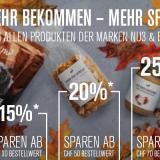 Nur heute: Bis zu 25% Rabatt auf die Marken nu3 und Beavita bei nu3, z.B. nu3 Bio Kokosöl 500ml für CHF 6.68 statt CHF 8.90