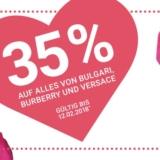 35% auf alles von Bulgari, Burberry und Versace bei Import Parfumerie, z.B. Versace Crystal Noir EdP für CHF 64.90 statt CHF 99.90