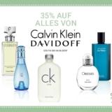 35% auf alles von Davidoff und Calvin Klein bei Import Parfumerie, z.B. Calvin Klein Eternity Air Men EdT 50 ml für CHF 50.60 statt CHF 62.40