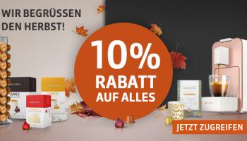 Delizio: 10% Rabatt auf Alles, kombinierbar mit personalisiertem 15% Gutschein