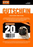 LIPO: CHF 20.- Gutschein ab CHF 99.- (nur offline)