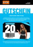Lipo Gutschein 20 CHF ab 99 CHF nur offline