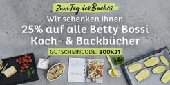 Betty Bossi: 25% Rabatt auf alle Koch- und Backbücher nur heute