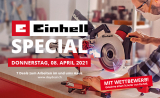 Einhell-Special bei Daydeal am 8.4.