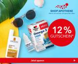 Shop Apotheke: 12% Rabatt auf Alles (Höchstbestellwert 300 Franken)