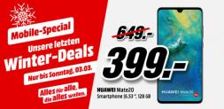 Hammer HUAWEI Mate 20 Dual-SIM, 128GB bei Mediamarkt