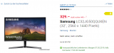 """Samsung Monitor 32"""" (2k, 144Hz) Samsung LC32JG50QQUXEN"""