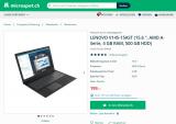 LENOVO V145-15AST Notebook für 199 CHF