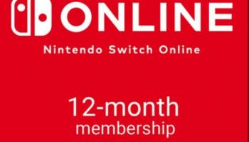 1 Jahr Nintendo Switch Online (Europa Key) bei cdkeys