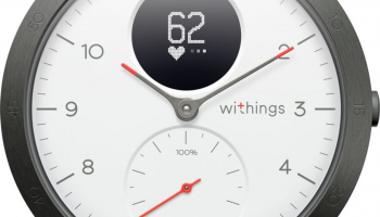 Withings Steel HR Sport, 40mm, weiss bei melectronics