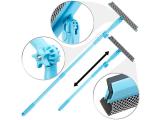 Pearl gratis Artikel: Fensterwischer mit Schwamm, Abzieher, Teleskopstab mit 2 Kipp-Gelenken