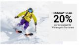 20% Rabatt auf das gesamte Wintersport-Sortiment bei Ochsner Sport