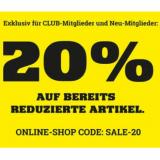 20% auf bereits reduzierte Artikel bei Ochsner Sport, z.B. Fox Flux Velohelm für CHF 71.90 statt CHF 129.90