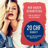 Nur heute: CHF 20.- Preisnachlass bei Only (MBW CHF 90.-)