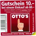 Neuer Ottos CHF 10.- Gutschein ab MBW 60.-