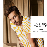 Nur heute: 20% auf alle Shirts bei Outletcity Metzingen ( MBW CHF 100.-)
