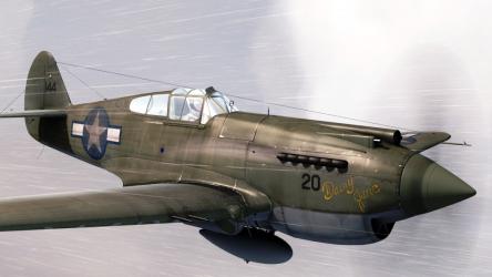 A2A Simulations Accu-sim Curtiss P-40 Warhawk für Flight Simulator X (FSX) und Prepar3D (P3Dv4)