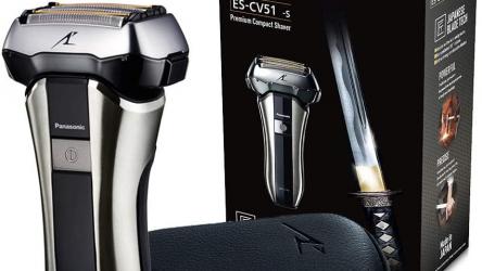 elektrischer Premium Kompaktrasierer Panasonic ES-CV51-S803 bei amazon.es