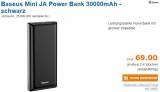 Baseus Mini JA Power Bank 30000mAh mit Newsletter Gutscheincode für CHF 49.- bei pc-ostschweiz.ch