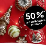 50% auf Weihnachtsschmuck bei Pfister, z.B. Hänger Winterstille für CHF 4.- statt CHF 7.95