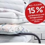 15% auf die Schlafwelt bei Pfister, z.B. Boxpringbett Maxime Loft Plus für CHF 1861.50 statt CHF 2190.-