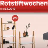 Rotstiftwochen bei Möbel Pfister – bis zu 50% Rabatt