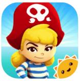 iOS 3D Aufklappbuch Piratenprinzessin gratis