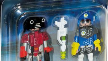 Playmobil – DuoPack Spacepolizist und Ganove 70080 (Abholung)