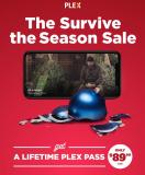 "Plex: Lebenslanger Plex Pass im ""Survive the Season Sale"""