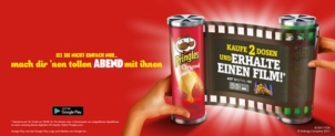 Gutscheinfehler: Vier Filme gratis in der Pringles Movie Night