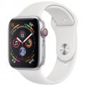APPLE Watch Series 4 GPS + Cellular, 44mm Aluminiumgehäuse, Silber mit Sportarmband bei Steg