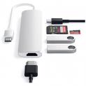 SATECHI USB-C Slim Aluminium Multiport Adapter V2 bei MediaMarkt