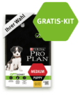 Gratis-Kit für Welpen und Purina Matzinger gratis ausprobieren