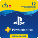 Playstation Plus Abo 12 Monate als digitaler Code bei offerz