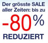Bis zu 80% Rabatt im Quelle Sale