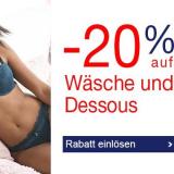20% auf Wäsche und Dessous bei Quelle, z.B. Tommy Hilfiger T-Shirt-Body aus Rippstrick für CHF 71.92 statt CHF 89.90