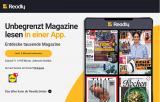 Ideal für die Sommerferien: Readly via Lidl Schweiz 2 Monate kostenlos testen