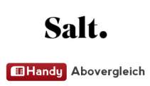 Salt Start Handyabo (24 Monate mit 50% Rabatt) inkl. kostenloser SIM-Karte bei Handy Abovergleich für CHF 9.95 / Monat