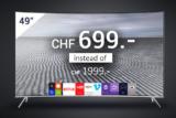 "Samsung 49"" SUHD 4K Curved Smart TV 49KS7580 Series 7 bei DeinDeal"