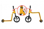 Postauto Scooter/Laufrad 2 in 1