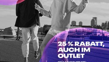 Reebok: 25% auf alles (auch Outlet!)