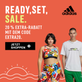 Adidas: Bis zu 50% auf Outlet + 20% on-top mit Gutschein!