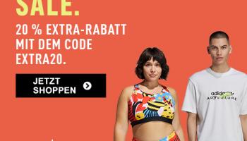 Adidas: Bis zu 40% auf Outlet + 20% on-top mit Gutschein!