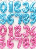 Zahlen Ballon bei Aliexpress für z.B Geburtstagsparty oder Babyshower